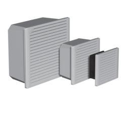 Hoffman TFP41 - Side-Mount Filter Fan - Gray - Steel