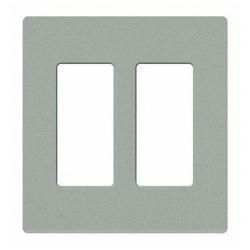 Lutron SC-2-BG - 2 Gang Wallplate - Bluestone
