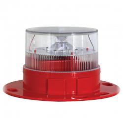 Avlite AV-OL-60-R - 0.2W LED Solar Aviation Light - Red