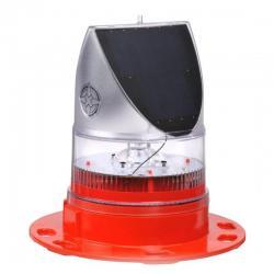 Avlite AV-OL-70-R - 0.2W LED Solar Obstruction Light - Red