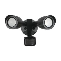 Satco 65-715 - 20W LED Dual Security Light - 3000K