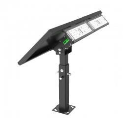Light Efficient Design RP-SFL-20W-40K-BK-G1 - 20W Solar LED Flood Light - 4000K