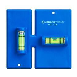 Jonard WTL-12 - Wall Box Template & Level for Non-Metallic Boxes - 1 Gang & 2 Gang