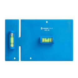 Jonard WTL-34 - Wall Box Template & Level for Non-Metallic Boxes - 3 Gang & 4 Gang