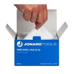 Jonard FW-50 - Wet Fiber Wipes - Pack of 50