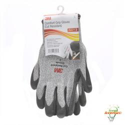 3M - CGL-CR - Large Cut Resistant Grip Gloves -- Size 9 - Breathable Liner