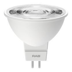 RAB MR16-6-830-25D-DIM - 7W LED MR16 Bulb - 3000K