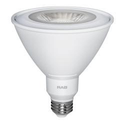 RAB PAR38-15-850-40D-DIM - 15W LED PAR38 - 5000K