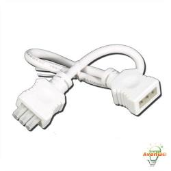 American Lighting 043A-12-EX-WH - 12 Inch Linking Cable - White