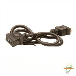 American Lighting 043A-24-EX-BK - 24 Inch Linking Cable - Black