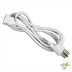 American Lighting 043A-PC6-WH - 6 Feet Power Cord - White