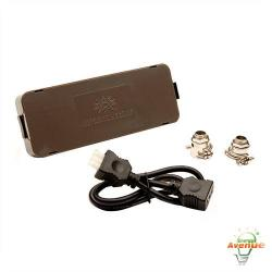 American Lighting 043J-BR - Hardwire Junction Box - Bronze
