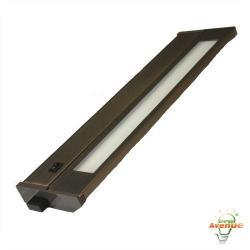 American Lighting 043T-22-DB - 13W Priori T2 Under Cabinet - Dark Bronze -- 3000K - 120V - Fluorescent - 494 Lumens (Initial) - 90 CRI - 120 Degree Beam Angle - Steel Housing - Captive Screws Mounting