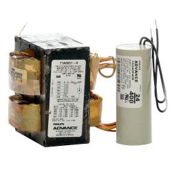Advance - 71A6051-001D - Metal Halide Ballast -- Probe Start - 400 Watt - (1) Lamp - 5 Tap - Includes Dry Capacitor and Bracket Kit - 120/208/240/277/480V