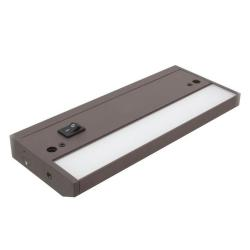 American Lighting ALC2-8-DB - 3W LED Under Cabinet Lighting - 3000K -- 8 Inch - LED Complete 2 - 175 Lumens - 93 CRI - 120 Degree Beam Angle - 120V - Dark Bronze