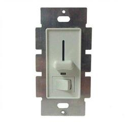 American Lighting AL-PWM-6A - PWM Slide Dimmer Switch - White -- 12-24V DC - 6 Amp Load Maximum