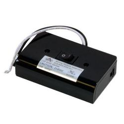 American Lighting ALSLBOX - Black Slimline Hardwire Box -- For MVP Line Under Cabinet LED Disks