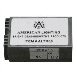 American Lighting ALTR60B - 20-60 Watt Hardwire Electronic Transformer -- 12V - c/UR/us Recognized