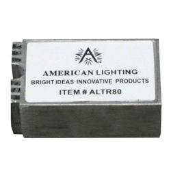 American Lighting ALTR80B - 20-80 Watt Hardwire Electronic Transformer -- 12V - c/UR/us Recognized