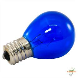 American Lighting - B10S11-BL - Incandescent S11 Light String Replacement Bulb - Blue - Box of 25