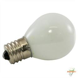American Lighting - B10S11-FR - Incandescent S11 Light String Replacement Bulb - Frosted - Box of 25 -- 10 Watt - 130V - Intermediate (E17) Base - S11 Bulb