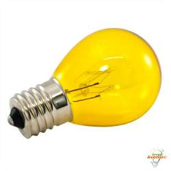 American Lighting - B10S11-YE - Incandescent S11 Light String Replacement Bulb - Yellow - Box of 25 -- 10 Watt - 130V - Intermediate (E17) Base - S11 Bulb
