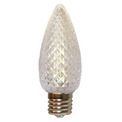 American Lighting - C9-LED5-WW - .45 Watt Decorative LED Bulb - Warm White -- 5 LEDs - 130 Volt - E17 Base - 5 Diodes for C9 - Faceted Finish