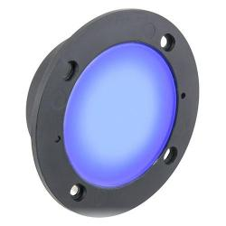 American Lighting - CIR-BL - Indoor Outdoor LED Steplight - Blue - 2.5 Watt -- 100 - 240V - 3000KWarm White - 80 CRI - 120 Degree Beam Angle