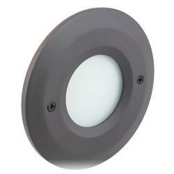 American Lighting - CIR-SM-DB - Smooth Faceplate for Indoor Outdoor LED Steplight - Dark Bronze