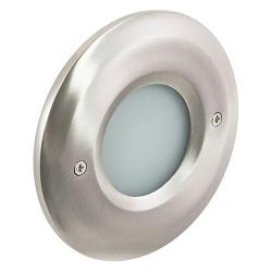 American Lighting - CIR-SM-SS - Smooth Faceplate for Indoor Outdoor LED Steplight - Stainless Steel