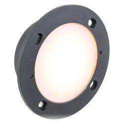 American Lighting - CIR-WW - Indoor Outdoor LED Steplight - Black - 2.5 Watt