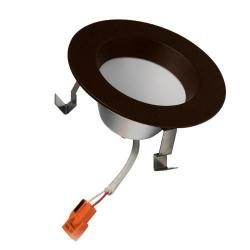 American Lighting EP3-RE-30-DB - 6W LED Remodeled Downlight - 3000K -- E-PRO 3 Downlight - 120V - 328 Lumens - 80 CRI - 77 Degree Beam Angle - Dimmable - Dark Bronze