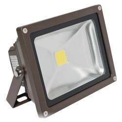 American Lighting - FL-201-45-DB - LED Panorama Pro 201 Flood Light - 25 Watt -- 67 CRI - 120/277V - 1700 Lumens - 4500K Cool White - Dark Bronze Finish