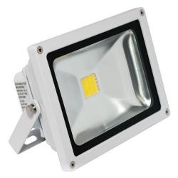 American Lighting - FL-201-45-WH - LED Panorama Pro 201 Flood Light - 25 Watt -- 67 CRI - 120/277V - 1700 Lumens - 4500K Cool White - White Finish