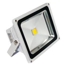 American Lighting - FL-301-45-WH - LED Panorama Pro 301 Flood Light - 36 Watt -- 67 CRI - 120/277V - 2350 Lumens - 4500K Cool White - White Finish