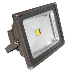 American Lighting - FL-501-30-DB - LED Panorama Pro 501 Flood Light - 55 Watt -- 67 CRI - 120/277V - 3500 Lumens - 3000KWarm White - Dark Bronze Finish