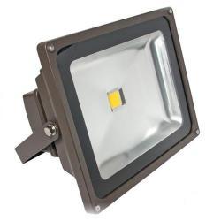 American Lighting - FL-501-45-DB - LED Panorama Pro 501 Flood Light - 55 Watt -- 67 CRI - 120/277V - 3800 Lumens - 4500K Cool White - Dark Bronze Finish