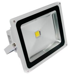 American Lighting - FL-501-45-WH - LED Panorama Pro 501 Flood Light - 55 Watt -- 67 CRI - 120/277V - 3800 Lumens - 4500K Cool White - White Finish