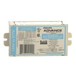 Advance - ICF-2S18-H1-LD - SmartMate Electronic CFL Ballast -- Programmed Start - 18 Watt - (2) 18 Watt CFLs - 120/277V
