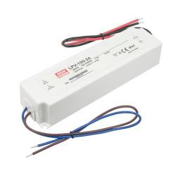 American Lighting LED-DR150-24 - 1-100 Watts Hardwire Power Supply -- Class 2 - Used with LED Ruler 2 Fixtures - White Finish