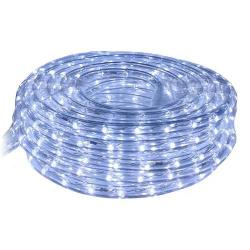 American Lighting LR-LED-CW-9 - 9 Ft LED Rope Light Kit - 6400K -- Cool White LED FlexBrite Kit - 120V - 0.77 Watt per foot - 34 Lumens per foot - 75 CRI - 120 Degree Beam Angle - UL Listed - Dimmable