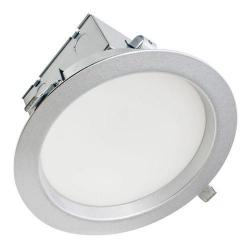 American Lighting MAG8-30-BS - 3 in 1 LED Downlight - 3000K - Brushed Steel -- 23 Watts - Magnum 8 Downlight - 120V - 1800 Lumens (Initial) - 80 CRI - 110 Degree Beam Angle
