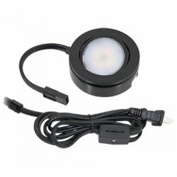 American Lighting MVP-1-BK - 4.3W Single MVP LED Puck Light Kit - 2700K