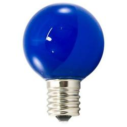 American Lighting - PG40F-E17-BL - Professional G40 LED Decorative Lamps - Box of 25 -- Blue - Intermediate E17 Base