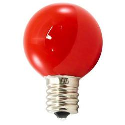 American Lighting - PG40F-E17-RE - Professional G40 LED Decorative Lamps - Box of 25 -- Red - Intermediate E17 Base