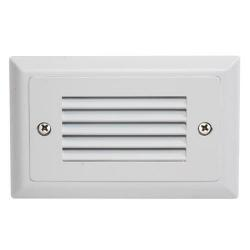 American Lighting SGL-HL-WH - 1.7W Horizontal Louver Faceplate - 3000K