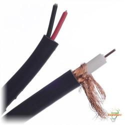 Belden Wire & Cable Co. - 1000FT - 549945 0101000 - Black PTZ (CCTV+Power/Audio) Cable