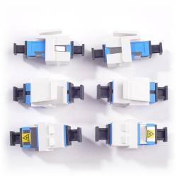 Belden - AX102687 - SC Module -- KeyConnect - SC - Singlemode - White