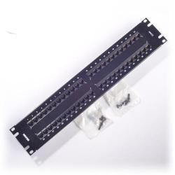 Belden - AX103259 - Patch Panel -- HD-110 - 48 Port - U2 - CAT5e