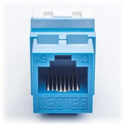 Belden - AX104193 - Modular Jack -- KeyConnect - CAT6 - RJ45 - Blue
